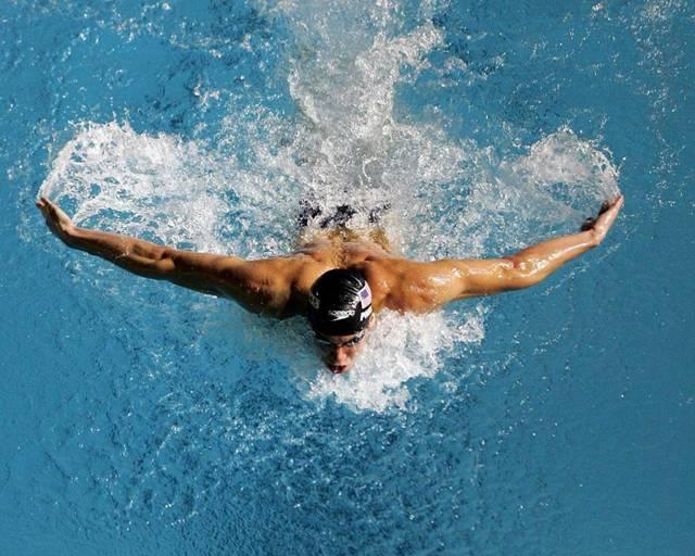 Entrenamiento aerobico ligero en natacion