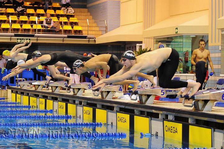 Entrenamiento aerobico medio en natacion
