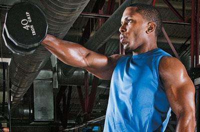Muscular y Tonificar: Elevaciones frontales