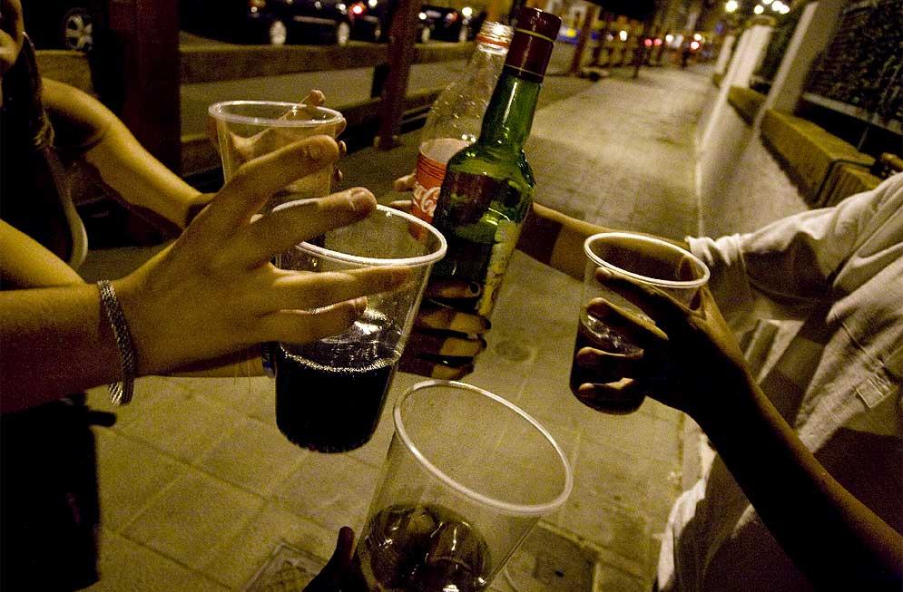 Los emblemas contra el alcoholismo
