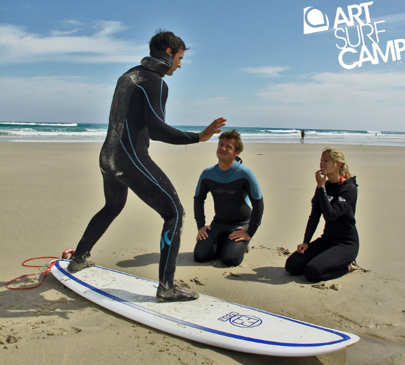 Este verano anímate a probar el surf