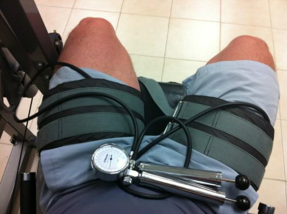 Entrenamiento oclusivo (II): Ganancia muscular en rehabilitación