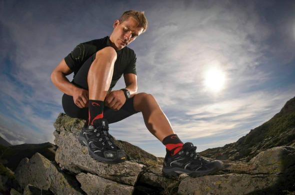 La importancia de los calcetines para los corredores