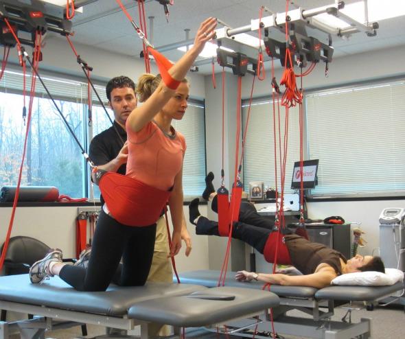 Redcord: Más que entrenamiento en suspensión