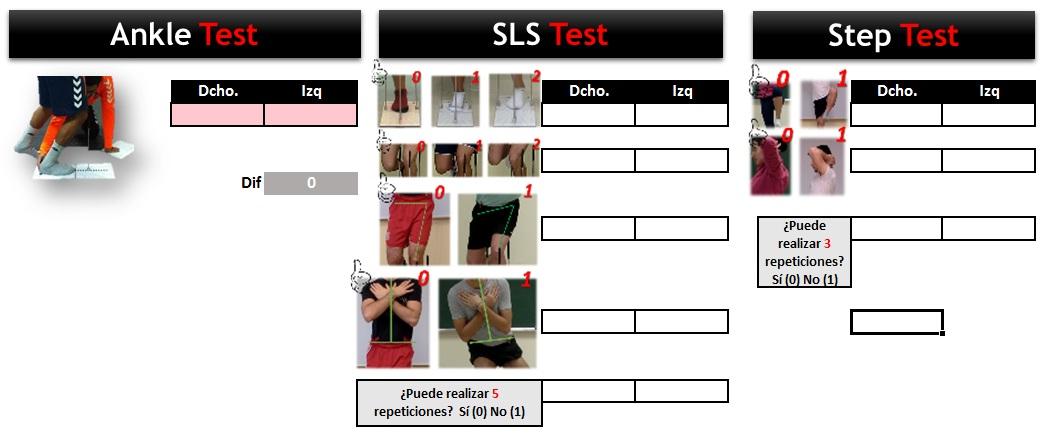 leg motion test